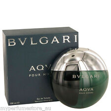 AQVA POUR HOMME 100ml EDT SPRAY BY BVLGARI ----------------- NEW PERFUME FOR MEN