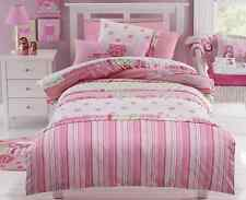6pce Jiggle Giggle Lucy Shabby Chic Girls Queen Bed Quilt Cover Pack rp $177.95