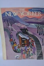 THE NEW YORKER Magazine Jan.24,1942  Cover by Tobias Cover only