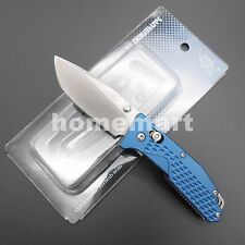 Original SRM Sanrenmu 7063AUC-LI Multi Tool Pocket EDC Folding Knife Blue Handle
