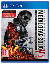 Metal Gear Solid 5 V The Definitive Experience PS4 (English Portuguese Spanish)