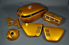Honda CB750 Stock Sandcast K0 KO Body Set Candy Gold 1969 1970 THE BEST!
