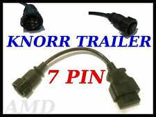 KNORR TRAILER 7 PIN DIAGNOSTIC LEAD FOR AUTOCOM DELPHI OPUS WURTH  ECLIPSE