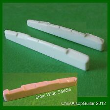 Oversized Bone Guitar Saddle Copy. Over 4.5mm wide or Over 85 mm long. PS030