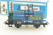 Marklin 4675 OLEX Tank Car HO Scale