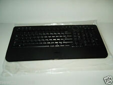 Dell Wireless Slim Black Multimedia Keyboard w/Volume Play Calc M756C Y-RBP-DEL4