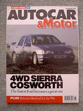 Autocar (7 Feb 1990) Sierra Cosworth, Renault 25, Daihatsu Applause, Lamborghini