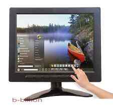 "8"" USB Multimedia Player LCD Touch Screen HDMI AV BNC PC VGA TFT LED Monitor UK"