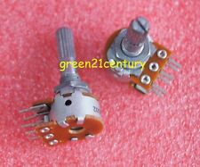 2x Original Japan ALPS RK16 16-Type Dual 100K 100KA×2 Volume Potentiometer 16MM