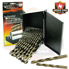 PRO  29PC COLBALT DRILL BIT SET  INDUSTRIAL--  USA