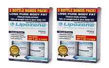 LIPOZENE MAXIMUM STRENGTH 4 BOTTLES PACK WEIGHT LOSS DIET PILLS Lipozene