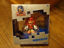 "TOMY--SONIC THE HEDGEHOG--2 1/4"" KNUCKLES FIGURE (NEW) 25th ANNIVERSARY"