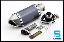 Universal Motorcycle GP Long  Muffler Exhaust Pipe System 51MM