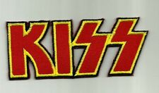 KISS EMBROIDERED PATCH
