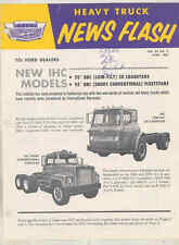 1963 International Loadstar CO Fleetstar Truck Brochure for Ford Salesmen wu1034