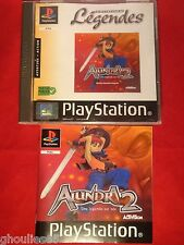 ALUNDRA 2 PLAYSTATION 1 ALUNDRA 2 PS1 PSONE PS2 PS3