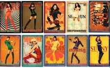 GIRLS' GENERATION SNSD Japan ver Hoot Official Photo Card 7&i limited Full set