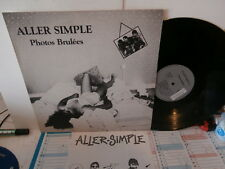 "aller simple""photos brulées""lp12""+ insert-or.fr.autoprot:226683.de 1986 rare"