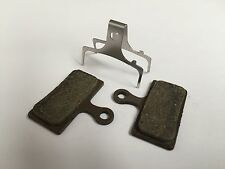 SHIMANO XTR 2011 ORGANIC SINTERED DISC BRAKE PADS - 1 PAIR