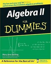 Algebra II For Dummies-ExLibrary