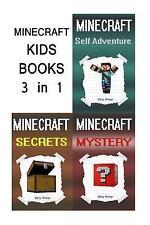Minecraft Kids Books : 3 Minecraft Books for Kids in 1 (Minecraft Mystery,...