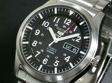 SEIKO 5 SNZG13 SNZG13J1 Army Automatic Japan Made Free Ship!
