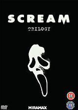 Scream Trilogy (DVD, 2011, 3-Disc Set, Box Set)