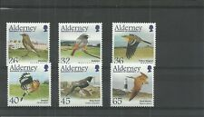 ALDERNEY-A235-40-MIGRATING BIRDS-PASSERINES-MNH