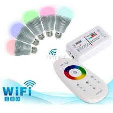 Remote Wireless RGBW RGB Strip LED Touch Screen Dimmer 2.4G RF Control System