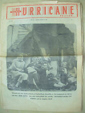 VINTAGE NEWSPAPER SHEFFIELD STAR FEBRUARY 24th 1962 HURRICANE SPECIAL EDITION