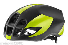 GIANT Pursuit casco bici road bike helmet MATTE black yellow nero giallo fluo M