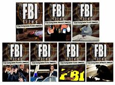 The FBI Files TV Series Complete Season 1-7 (1 2 3 4 5 6 7) NEW 34-DISC DVD SET