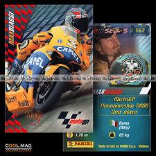#pngp03.167 ★ Pilote MAX BIAGGI (CAMEL PRAMAC PONS TEAM) ★ Panini Moto GP 2003