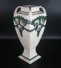 Ernst Wahliss Porzellan Vase Jugendstil Wien Art Nouveau Porcelain Vase Vienna