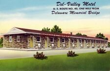 DEL - VALLEY MOTEL Route 40 PENNS GROVE, NEW JERSEY Owned by Mr & Mrs Garganta