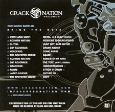 CrackNation Records - 2003 Music Sampler: Bring The Noiz DJ? Acucrack Headcase +