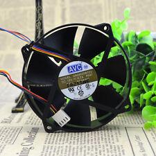 3pcs AVC DA09025B12U 9CM round frame supports CPU fan double ball bearing 4pin
