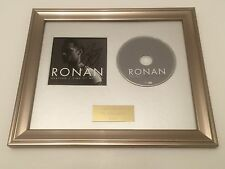 SIGNED/AUTOGRAPHED RONAN KEATING - TIME OF MY LIFE FRAMED CD PRESENTATION.