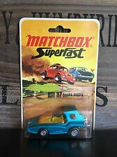 matchbox superfast no.37B-2.Version mint Blistercard excellent from 1972