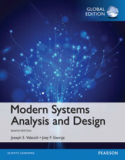 Modern Systems Analysis and Design (8th Edition), Global by Joseph S. Valacich a