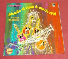 """PICCOLO ET SAXO A MUSIC CITY 25 CM / 10"""" ANDRE POPP  LASRY ALARCEN"""