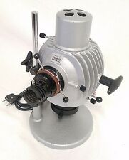 WILD HEERBRUGG MICROSCOPE ILLUMINATOR LIGHT BASE W/ BULB - TESTED