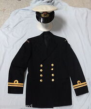 #EE.  RAN  ROYAL  AUSTRALIAN  NAVY  JACKET &  HAT, VIETNAM ERA