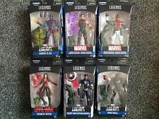 Marvel Legends Captain America Wave 3 - Abomination BAF Series - SET OF 6 MOC