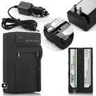 Battery Pack + Charger For Sony NP-F550 NP-F330 NP-F530 NP-F570 NP-F730 NP-F750
