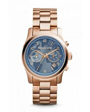 EX DEMO MICHAEL KORS MK5972 HUNGER STOP 100 ROSE GOLD WATCH