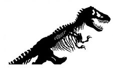TYRANNOSAUR T-REX DINOSAUR SKELETON WALL DECAL STICKER