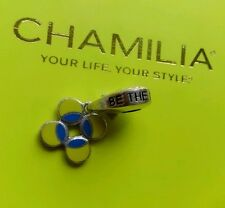 Genuine Chamilia silver 925 Be the match enamel bracelet charm bead 2020-0645