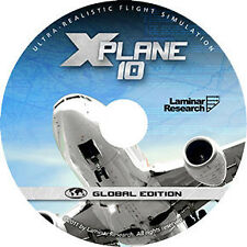 NEW X-PLANE 10 GLOBAL EDITION: Mac/Windows/Linux-Most advanced flight simulator