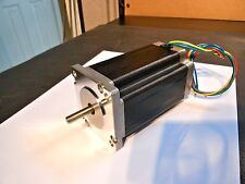 Nema 23 Stepper Motor, 3.5A 600oz in. 6.4mh Inductance (1/4in Double Shaft)